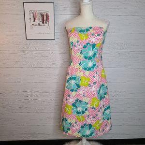 Lilly Pulitzer Sienna Strapless Stretch Dress